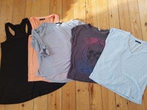 Bekleidungspaket Set 5 Teile H&M Asos Tally Weij XS S 34 36 oversized Bluse Shirt Longshirt Tunika