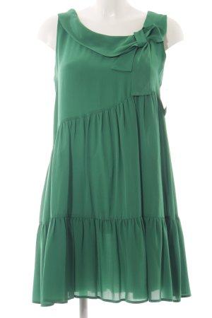 Bel Air Kurzarmkleid grün Romantik-Look