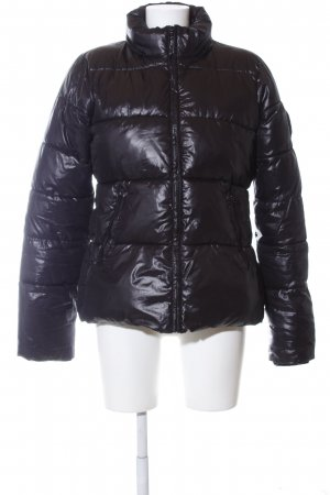 Bel Air Quilted Jacket black quilting pattern casual look