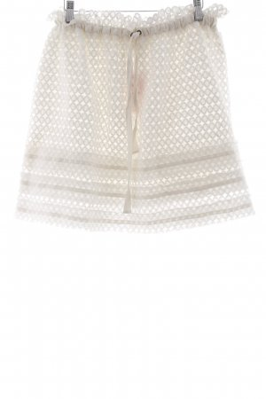 Belair Lace Skirt white romantic style
