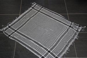 Belgo Lux Tuch, schwarz-weiß