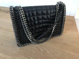 Zara Bandolera negro-color plata