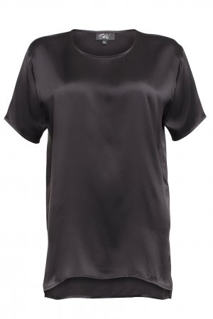Belier Camisa de mujer negro estilo «business»