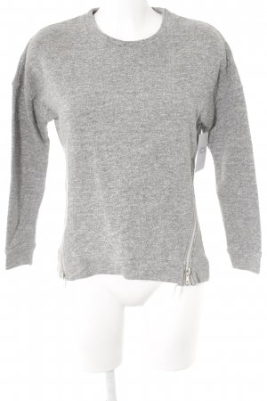 Believe-e Sweatshirt hellgrau-grau meliert Casual-Look