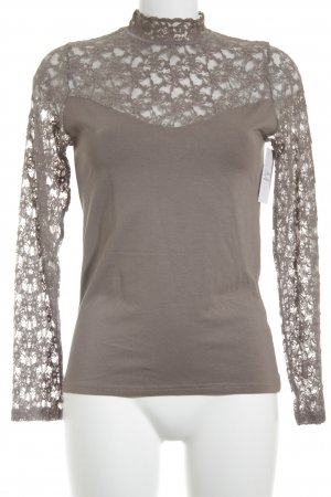 Belinay Turtleneck Shirt grey brown-light brown business style