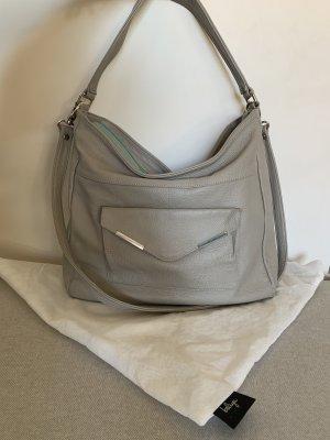 Shoulder Bag light grey leather