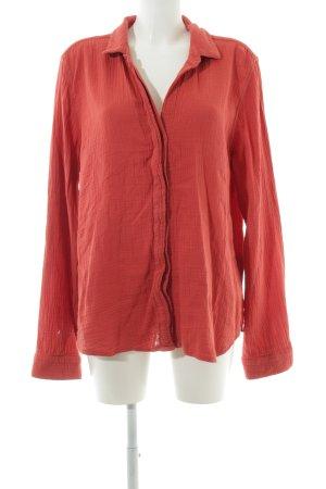 Bella Dahl Langarm-Bluse rot Casual-Look