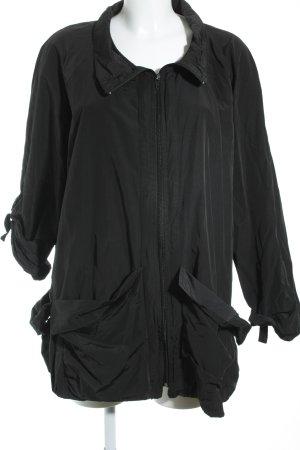 Bella Donna Übergangsjacke schwarz Casual-Look