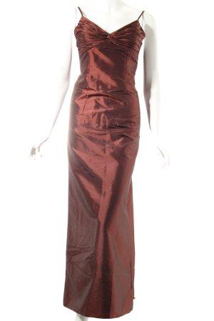 Bella Formals by Venus Abendkleid bronzefarben Metallic-Optik
