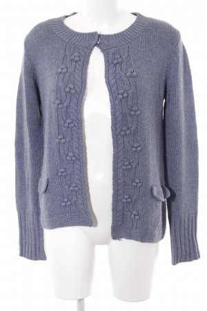 Bella jones Strickjacke himmelblau Casual-Look