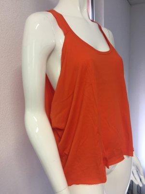 Muscleshirt oranje