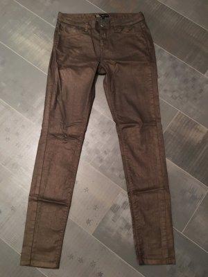Bella Ragazza Jeans braun / gold Gr. S