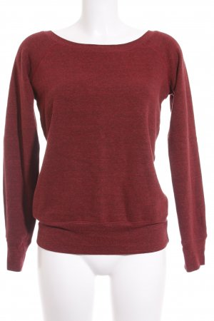 BELLA Sweatshirt dunkelrot Casual-Look