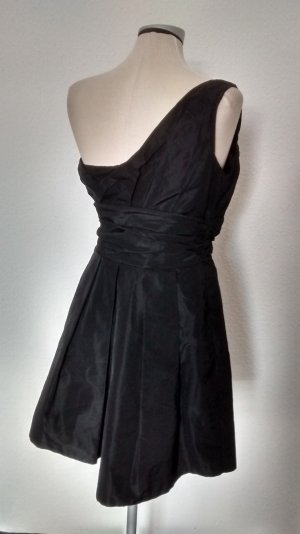 Belle by Oasis Oneshoulder Kleid Minikleid schwarz Gr UK 12 EUR 38 Cocktailkleid