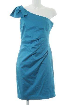Belle One-Shoulder-Kleid kornblumenblau Party-Look
