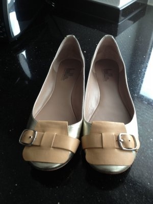 Belle by Sigerson Morrisson Ballerines doré-brun sable cuir