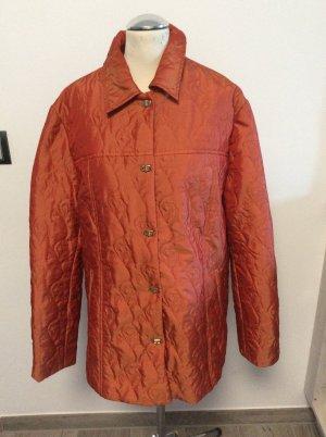 Quilted Jacket dark orange