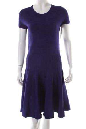 Belle Vere A-Linien Kleid dunkelviolett College-Look