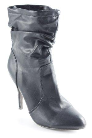 Belle Women High Heel Stiefel schwarz Glanz-Optik