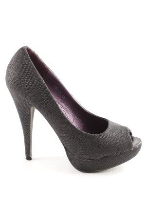 Belle Women High Heels bronzefarben Party-Look