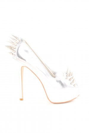 Belle Women High Heels silberfarben Elegant