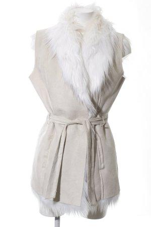 Bellfield Fake Fur Vest natural white casual look