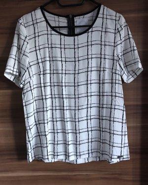 Bellfield * Shirt Bluse schwarz weiß Gr. M 36 * NEU * NP € 40