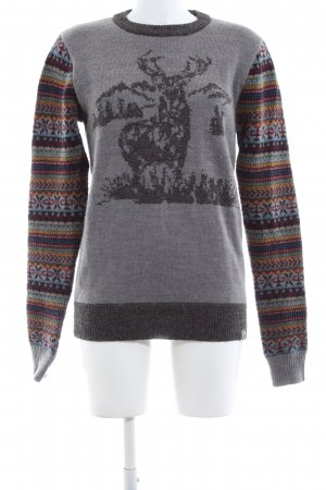 Bellfield Knitted Sweater flecked casual look
