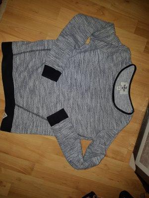 Bellfield Sweat Shirt silver-colored-black