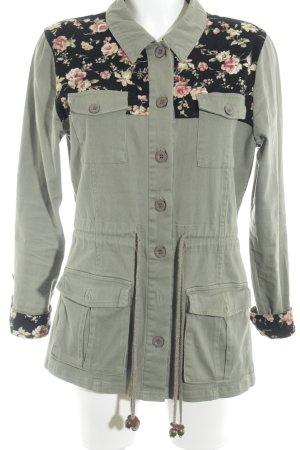 Bellfield Übergangsjacke florales Muster Street-Fashion-Look