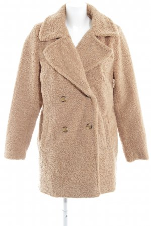 Bellfield Cappotto in lana color cammello stile casual