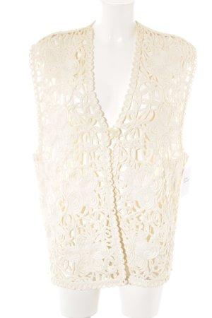 BELLINI Smanicato lavorato a maglia beige chiaro stile casual