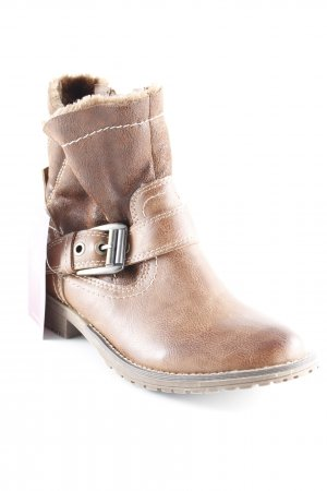 Bellissima Winter Booties brown casual look