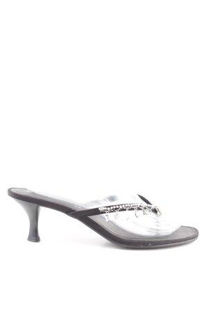 Bellissima Zehen-Sandaletten schwarz Casual-Look