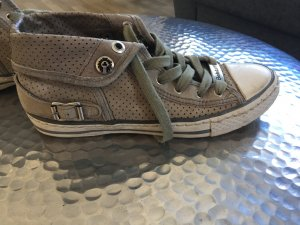 Belstaff High Top Sneaker grey leather
