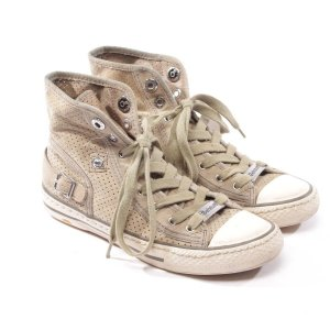 Belstaff Sneaker alta grigio Pelle