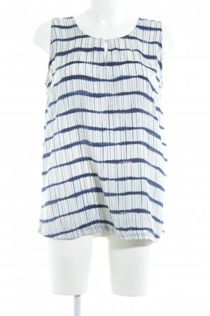 Bellybutton Sleeveless Blouse natural white-dark blue casual look