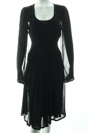 "Bellybutton Longsleeve Dress ""DEBORAH"" black"
