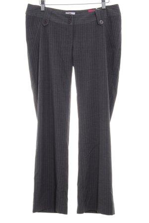 Bellybutton Jersey Pants dark grey striped pattern business style