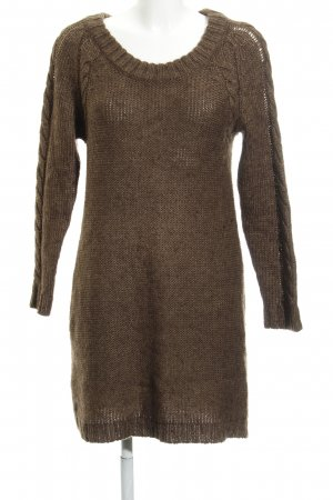 Bellybutton Knitted Sweater brown flecked casual look