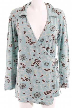 Bellybutton Wraparound Blouse floral pattern casual look