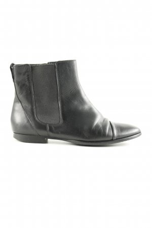 Belmondo Booties schwarz Business-Look