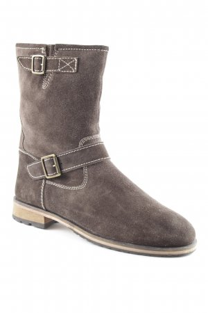 Belmondo Booties dunkelbraun Casual-Look