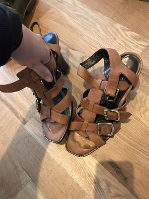 Belmondo braune Sommer Sandalen Größe 39 noch ungetragen