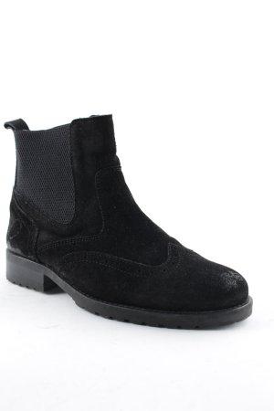 Belmondo Chelsea Boot noir style classique