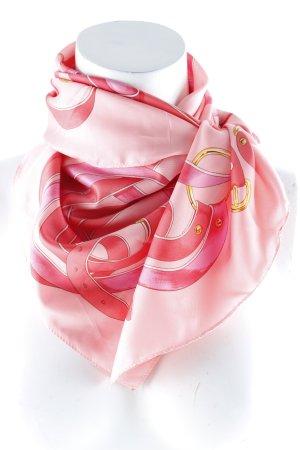 Belmondo Foulard rose-rose motif abstrait style décontracté