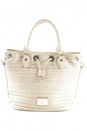 Belmondo Carry Bag nude-cream tortoise pattern street-fashion look