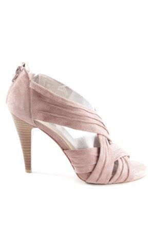Belmondo High Heel Sandaletten pink Casual-Look