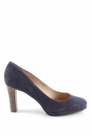Belmondo High Heels blau Business-Look