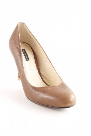 Belmondo High Heels grey brown elegant